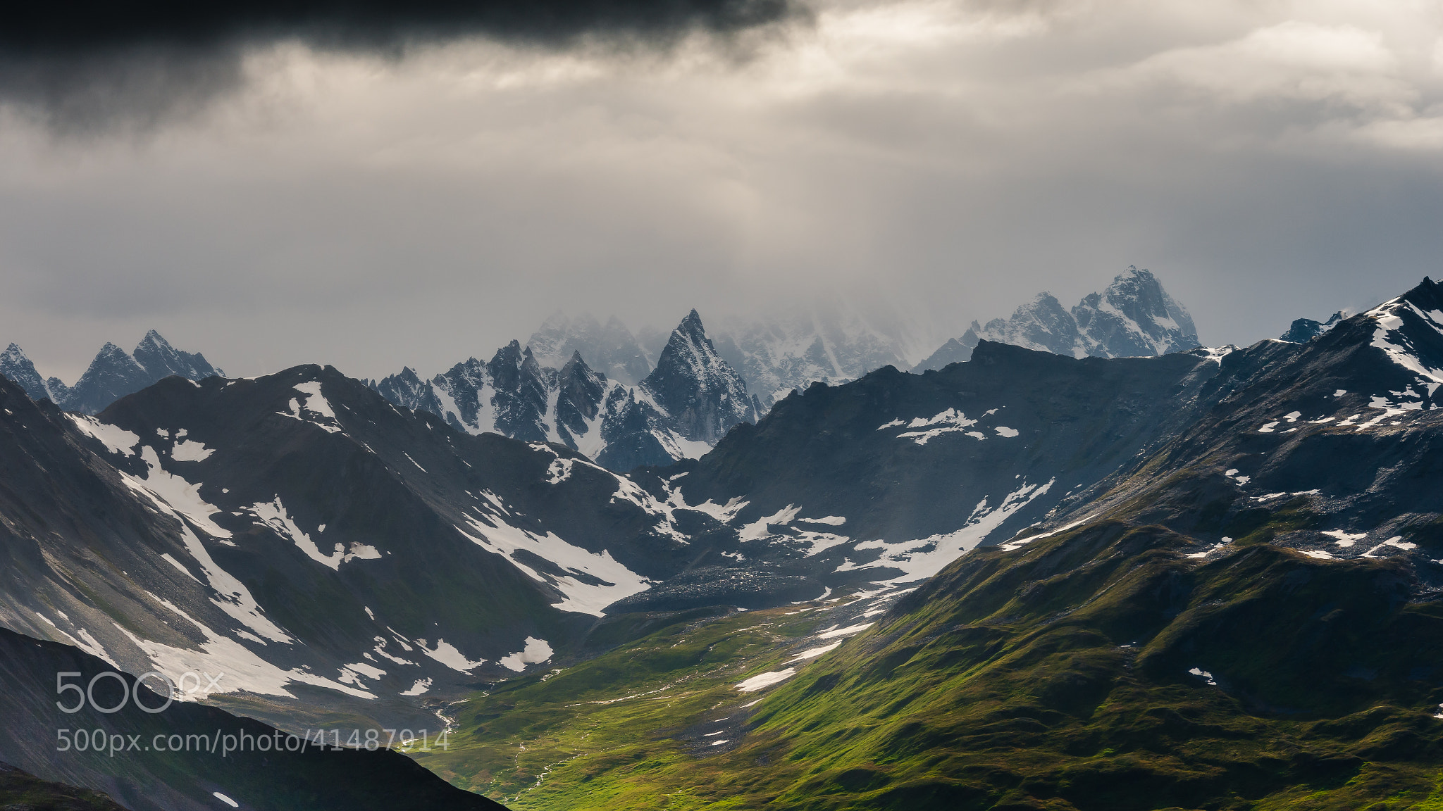 Photograph Through the Alaskan Storm by Evgeny Tchebotarev on 500px