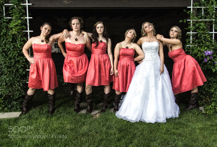 "Photograph The ""Bridesmaids"" Look by Louis  Quattrini on 500px"