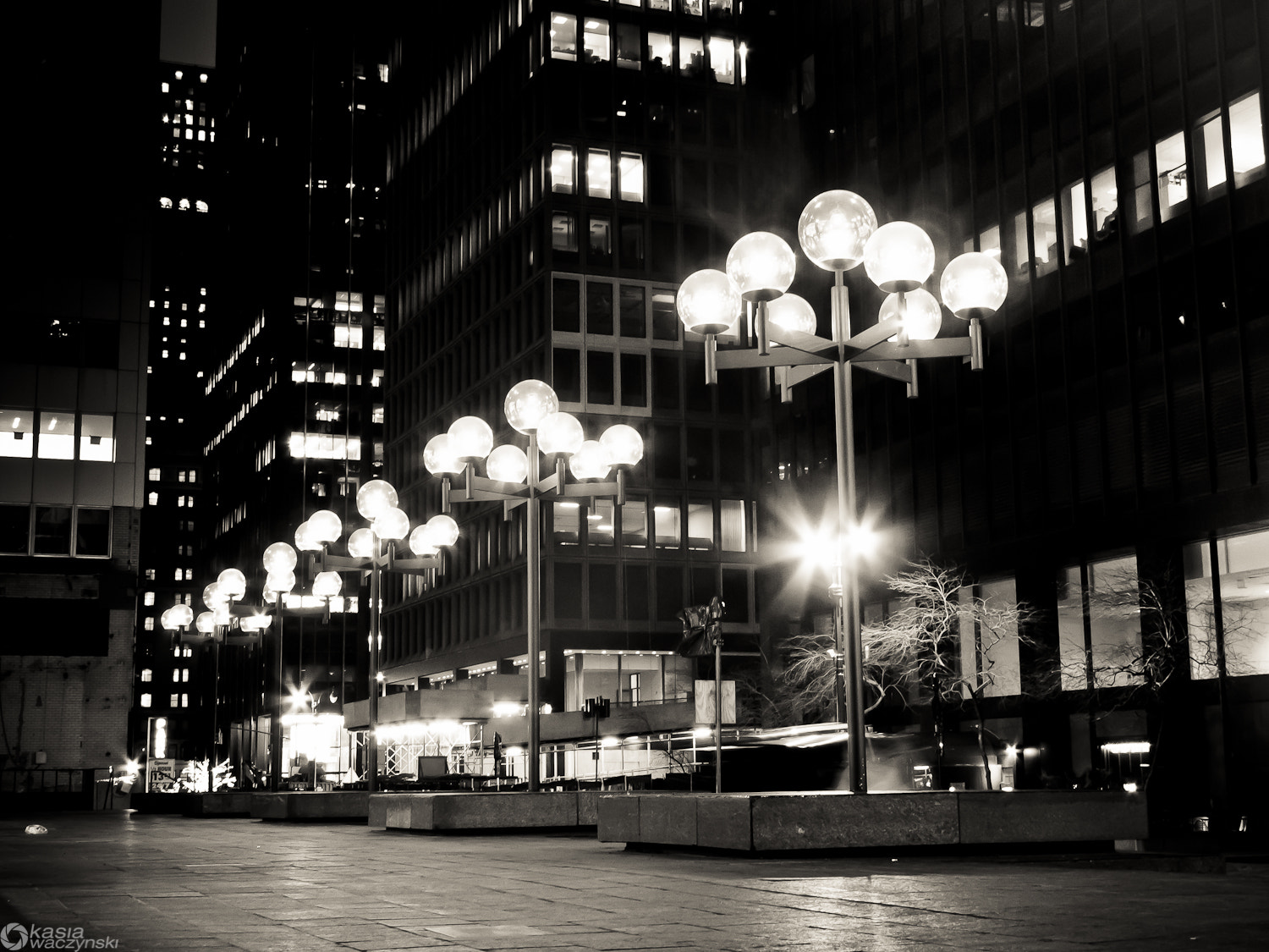 Photograph Street lights  by Kasia  Waczynski on 500px