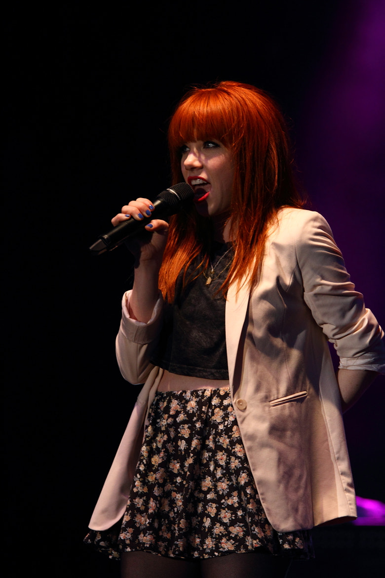 Photograph Carly Rae Jepson 2 by Ron Palmer on 500px