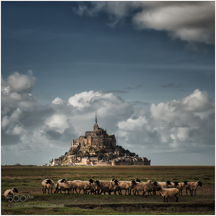 Photograph Mont Saint Michel by Don Pino on 500px