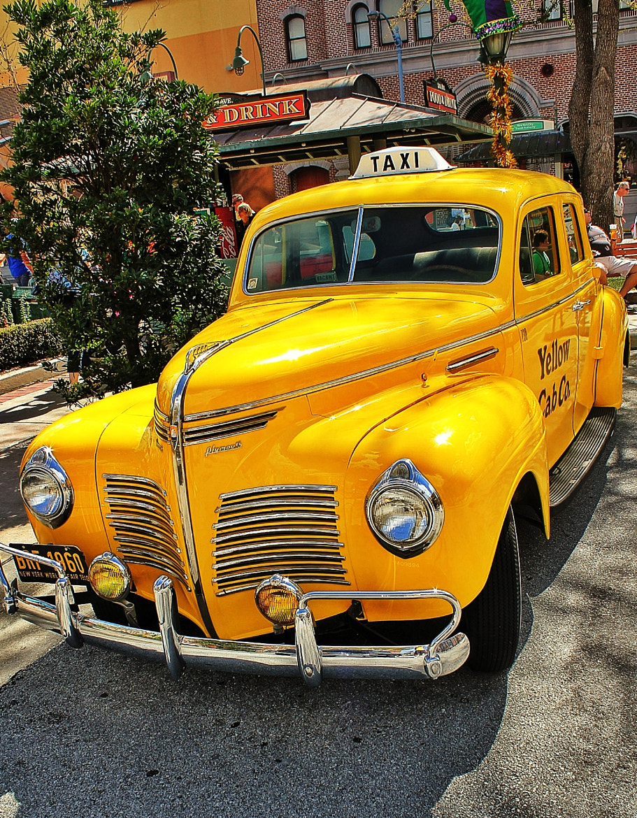 Photograph Yellow Cab Plymouth by Alex Tostes on 500px