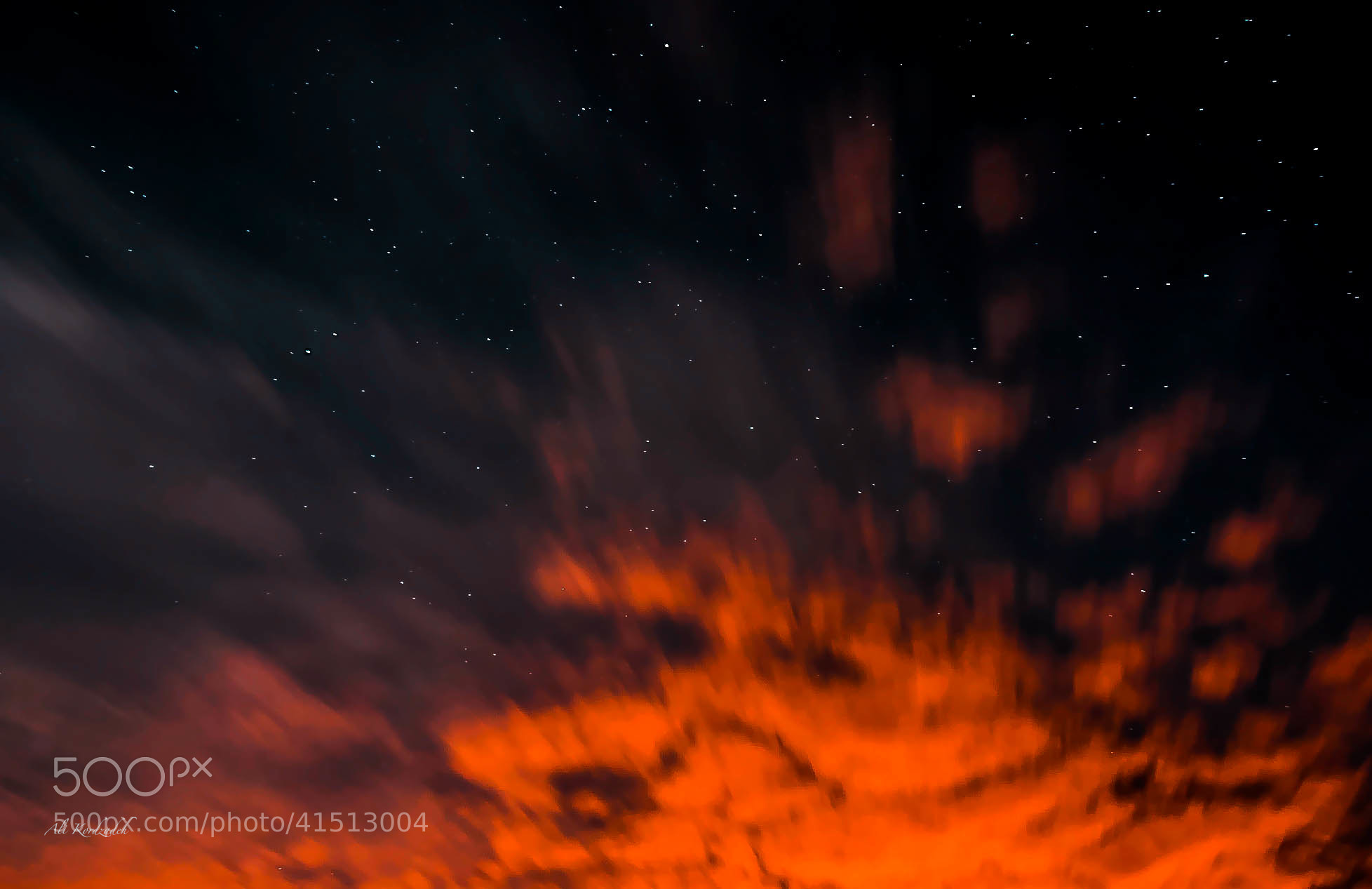 "Photograph ""Fire In the Sky"" by Ali KoRdZaDeh on 500px"