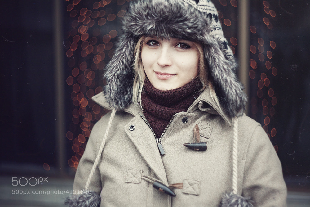 Photograph Moscow New Year with a girl by Poppy Green on 500px