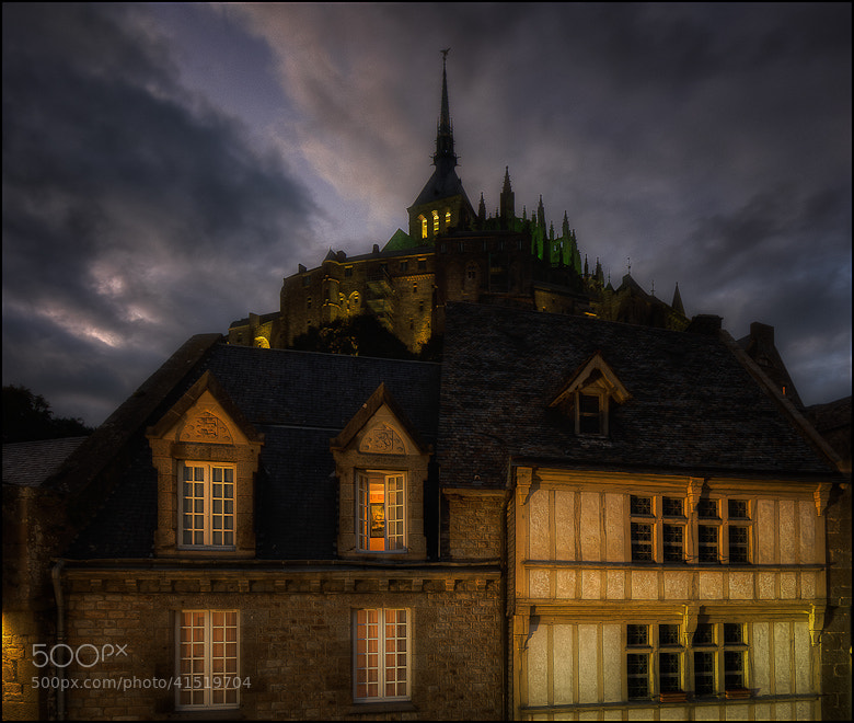 Photograph night@mont-saint-michel.fr by Don Pino on 500px