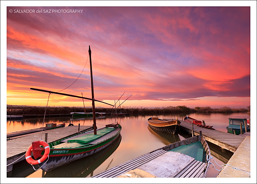 Photograph Moored at the jetty by Salvador del Saz on 500px