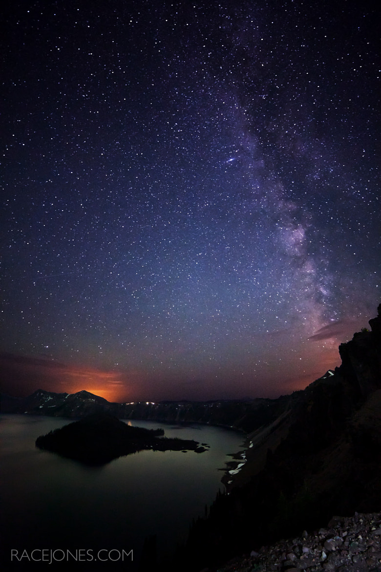 Photograph Crater Lake Galaxy by Race  Jones on 500px