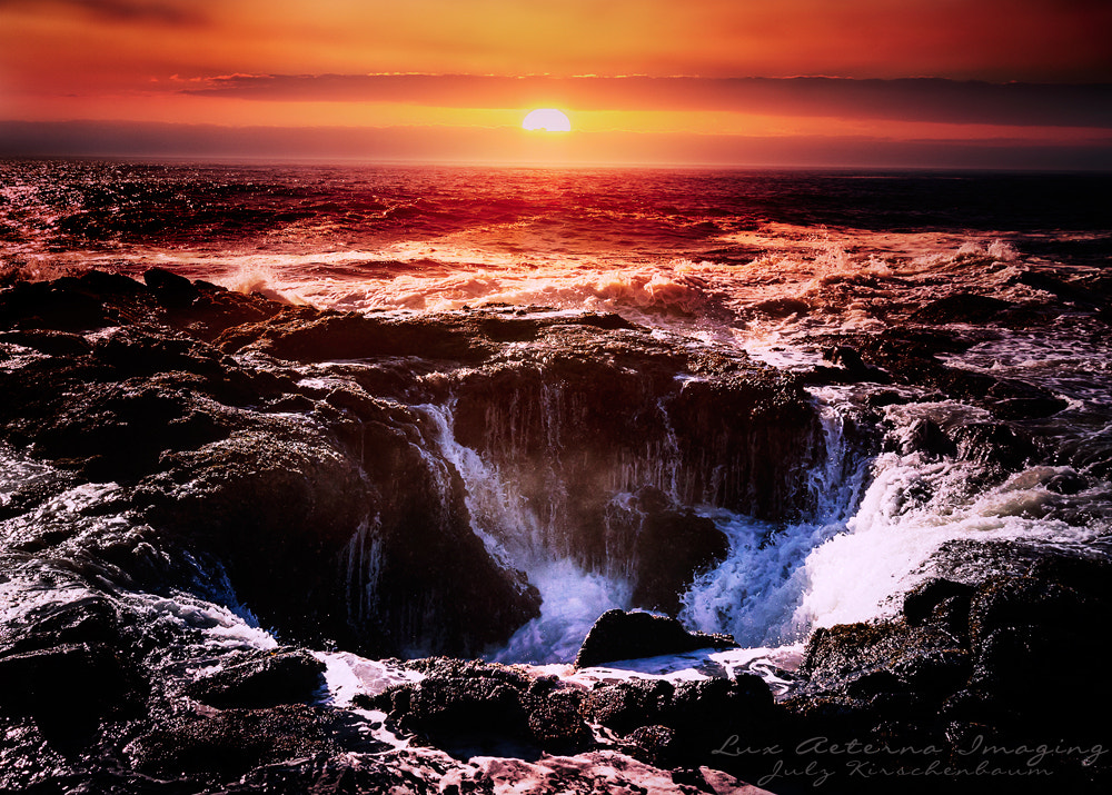 Photograph Thor's Well by Julz Kirschenbaum on 500px