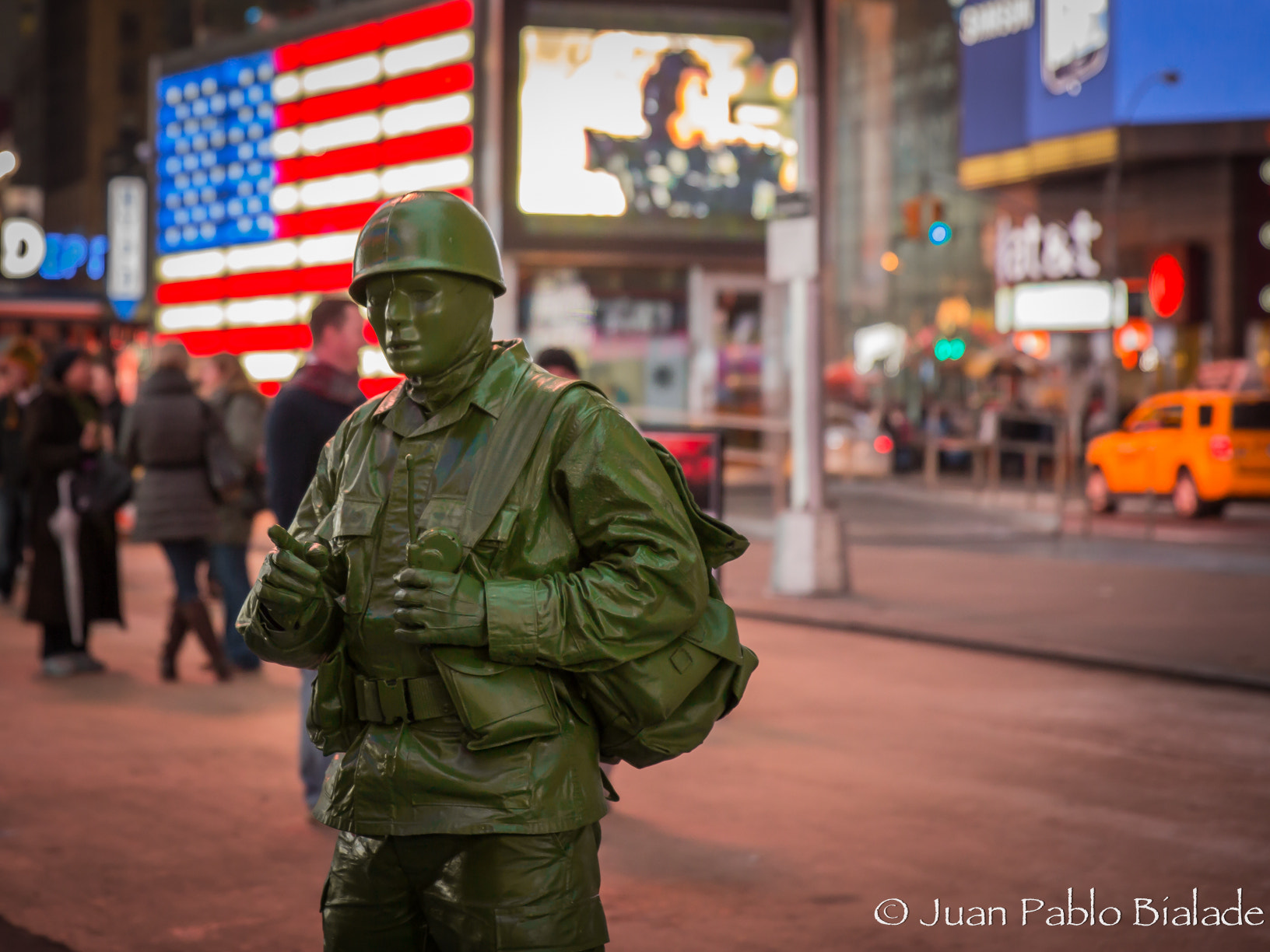 Photograph G.I. Joe in NYC by Juan Pablo Bialade on 500px