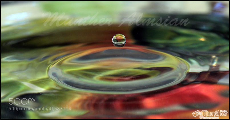 Photograph قطرات by munther Almsian on 500px