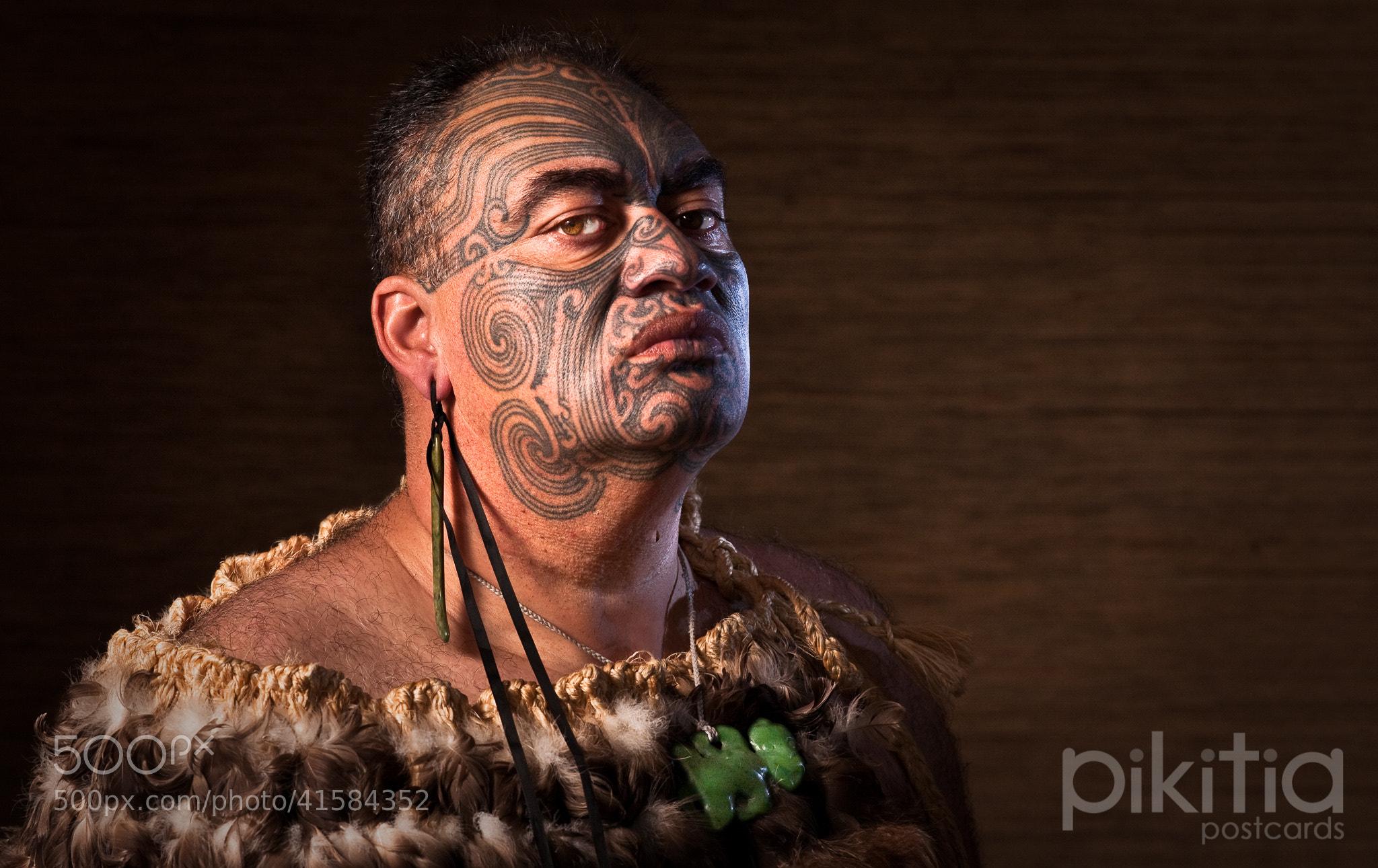 Photograph Tā Moko by Pikitia Postcards  on 500px