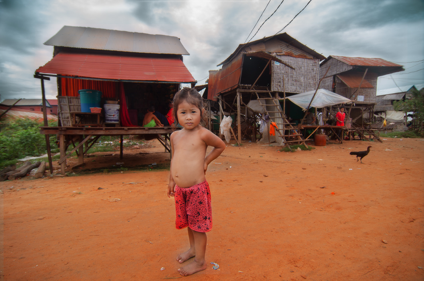 Photograph Little Cambodian Girl by Jaren Drew on 500px