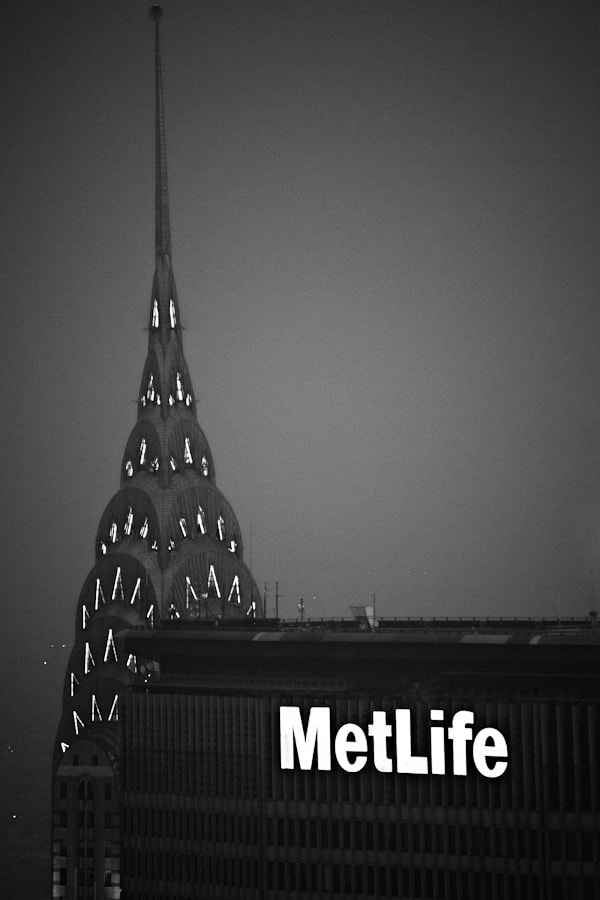Image taken at the top of the GE Building in Rockefeller Center