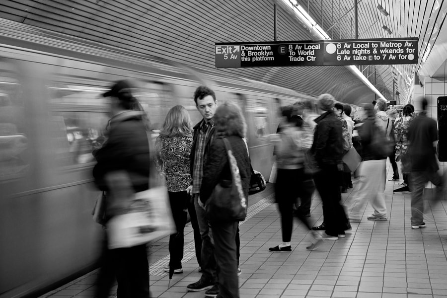 Image taken at the Fifth Avenue / 53rd Street Subway Station in Midtown