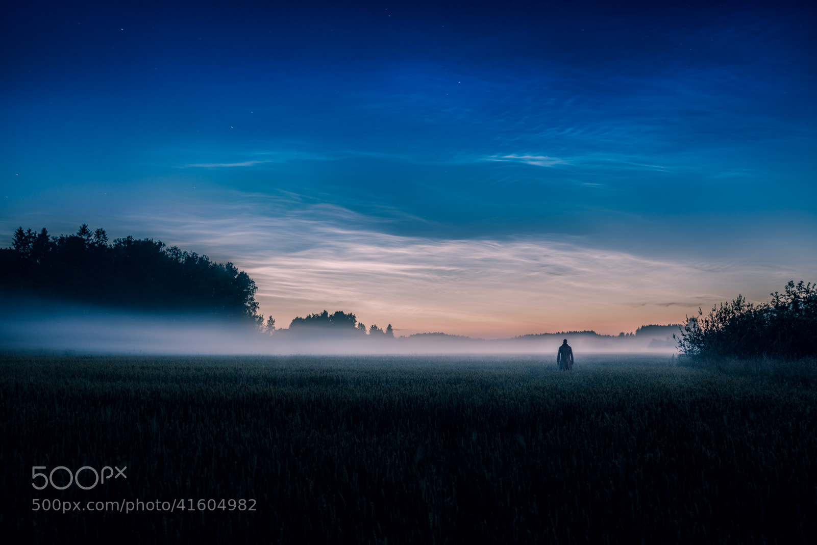Photograph Noctilucent Night by Mikko Lagerstedt on 500px