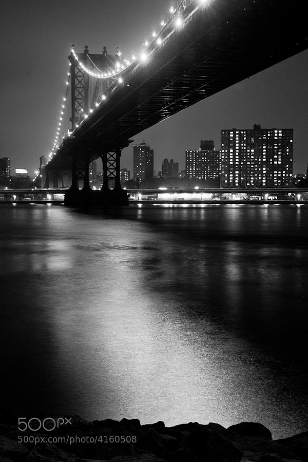 Image taken from the Brooklyn side looking back toward Manhattan