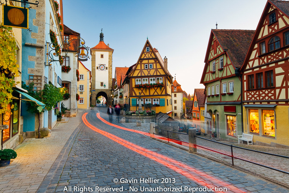 Photograph Rothenburg ob der Tauber, Bavaria, Germany by Gavin Hellier on 500px
