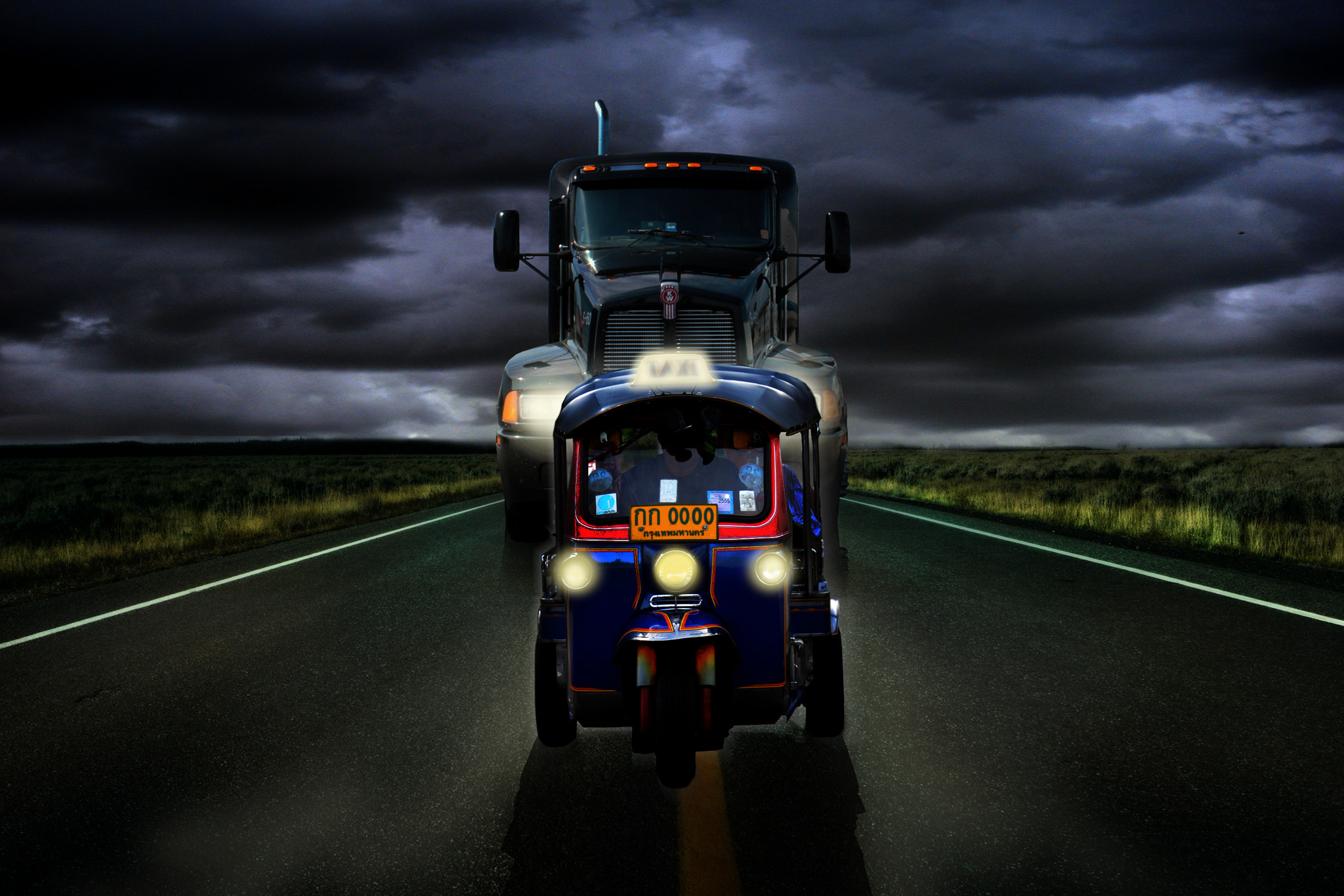 Photograph ghost rider by Kittiwut Chuamrassamee on 500px