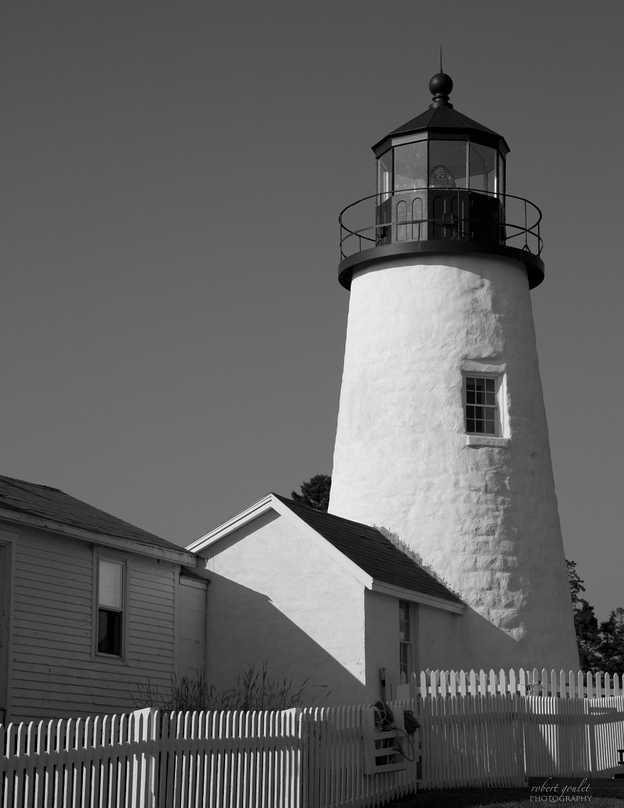 Photograph Pemaquid Lighthouse in B/W by Robert Goulet on 500px