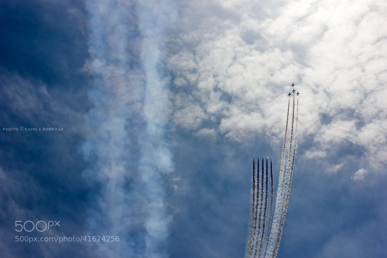 Photograph Red Arrows ... by Kamila Bobrzak on 500px