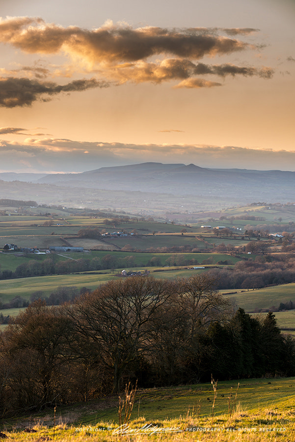 Photograph VIEW OVER VALE OF USK by COLIN MOLYNEUX on 500px