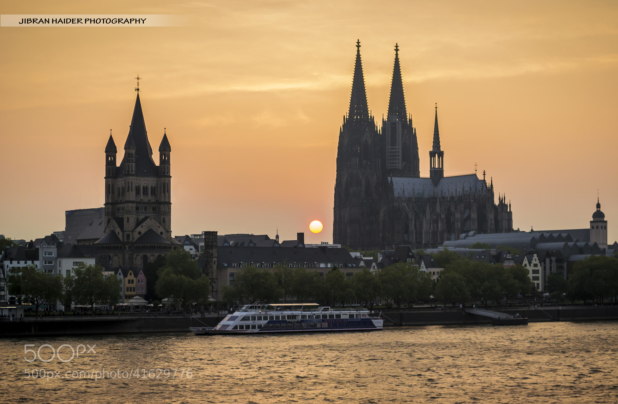 Photograph Cologne at Sunset by Jibran Haider on 500px