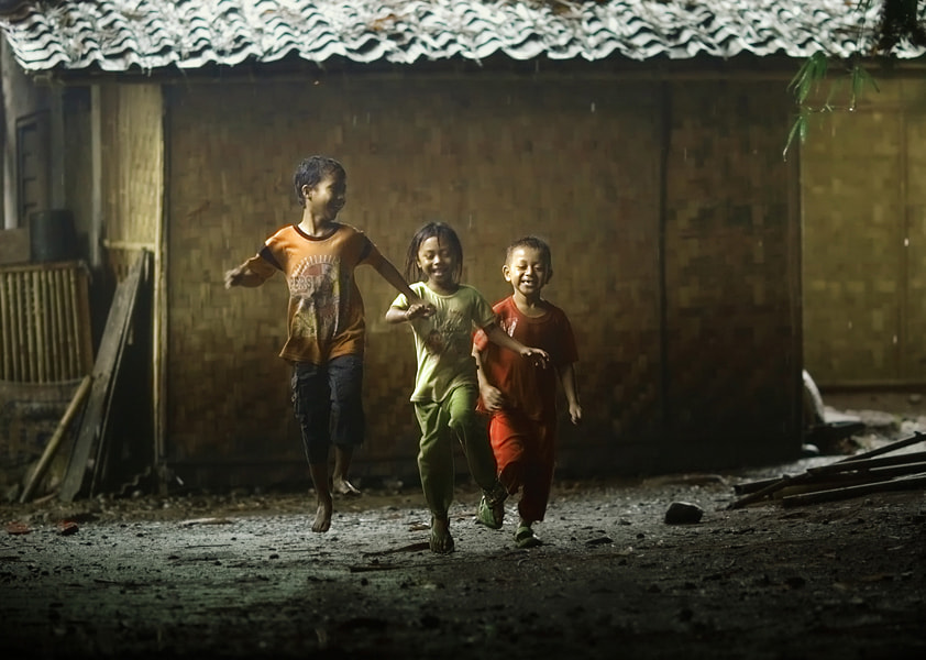 Photograph happiness in kampong by asit  on 500px