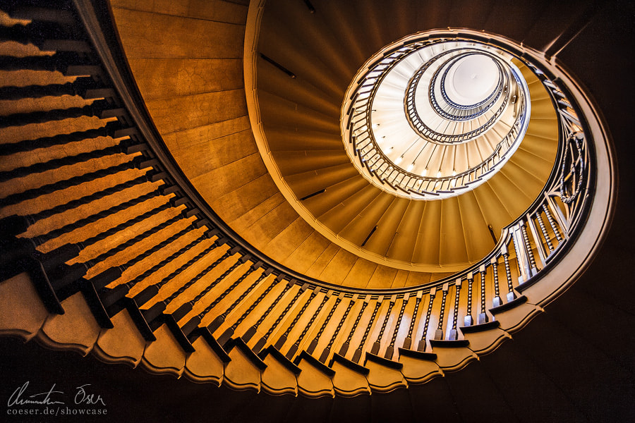 Photograph Heal's London Staircase 1 by Christian Öser on 500px