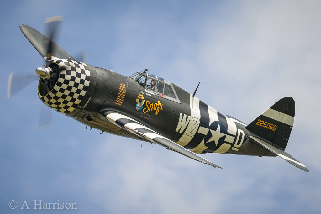 """Photograph P47 Thunderbolt """"SNAFU"""" by Adrian Harrison on 500px"""