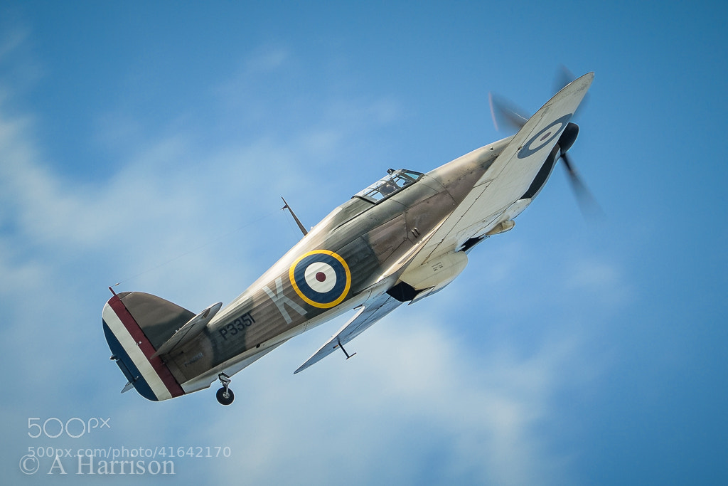 Photograph Hawker Hurricane MKII by Adrian Harrison on 500px