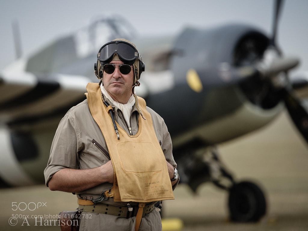 Photograph WW2 US Navy Re-enactor by Adrian Harrison on 500px