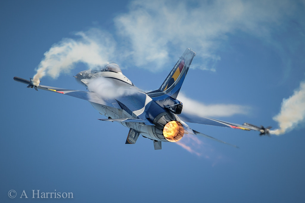 Photograph Belgian AF F16AM by Adrian Harrison on 500px