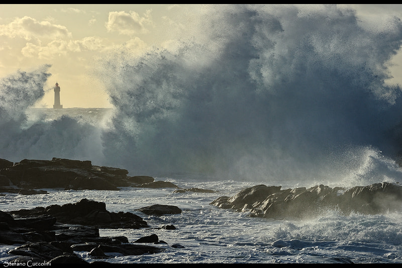 Photograph Lighthouse of Jument by Stefano Cuccolini on 500px