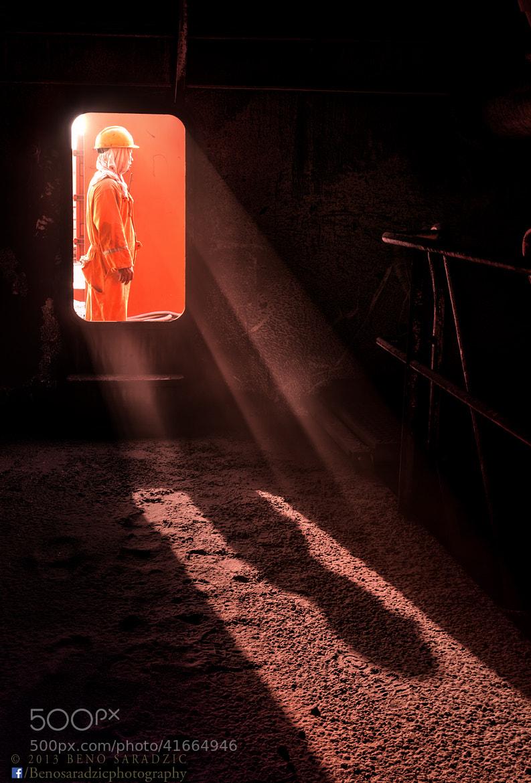 Photograph The Orange Man by Beno Saradzic on 500px