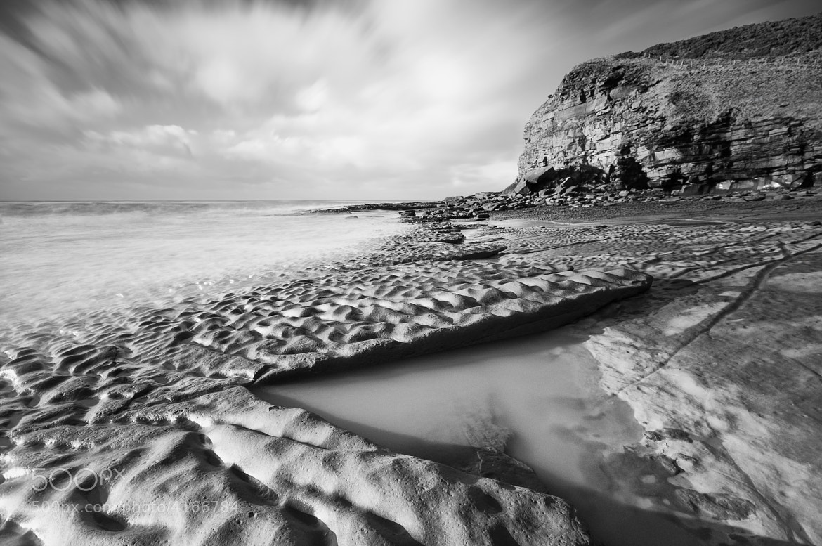 Photograph Fleswick Bay by Peter Henry on 500px
