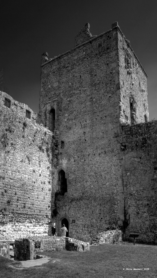 Photograph Portchester Castle by Chris Maskell on 500px