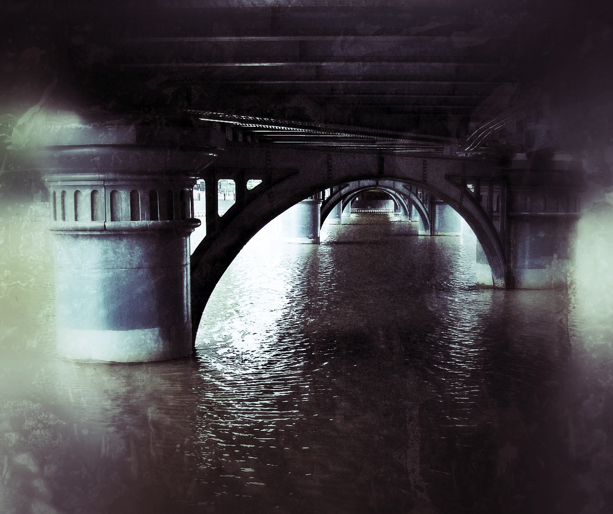Photograph The eye under the bridge by Gordon Watters on 500px