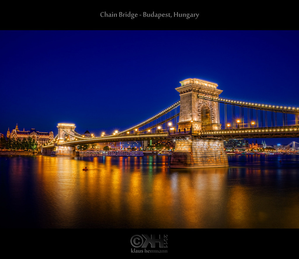 Photograph Chain Bridge (HDR) by Klaus Herrmann on 500px