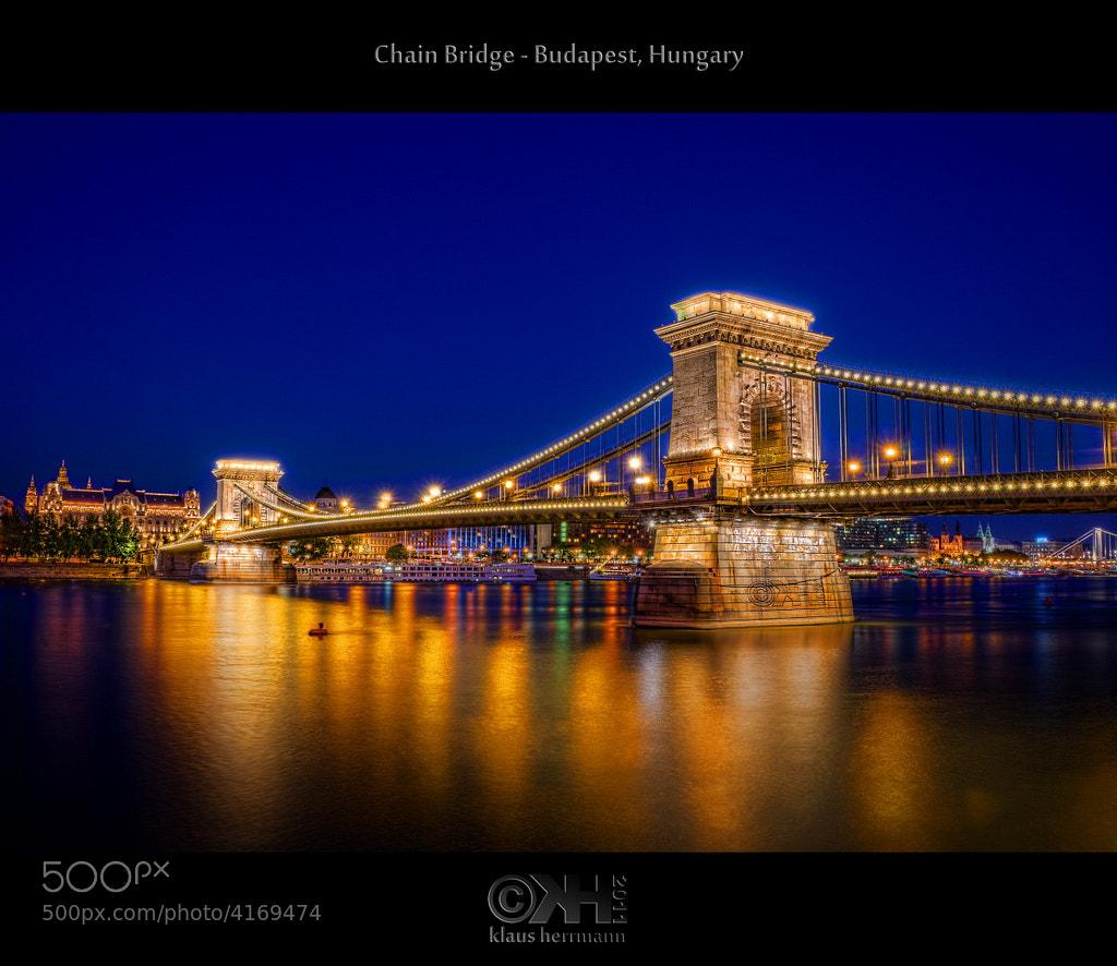 Photograph Chain Bridge (HDR) by Klaus Herrmann on 500px