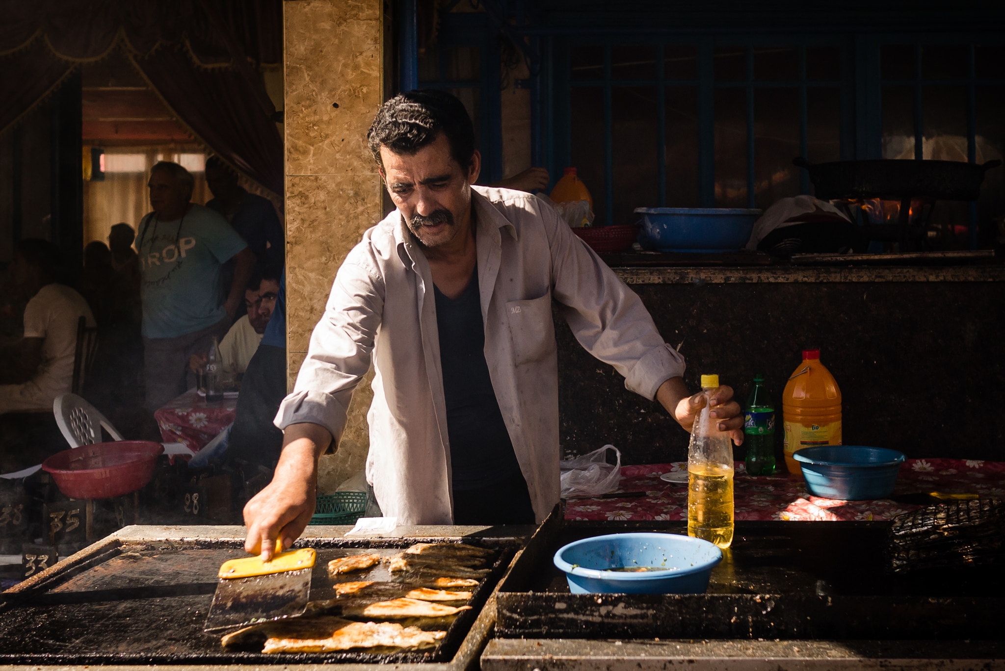 Photograph I am your only chance to cook your fish in Moulay bousselham by Amine Fassi on 500px