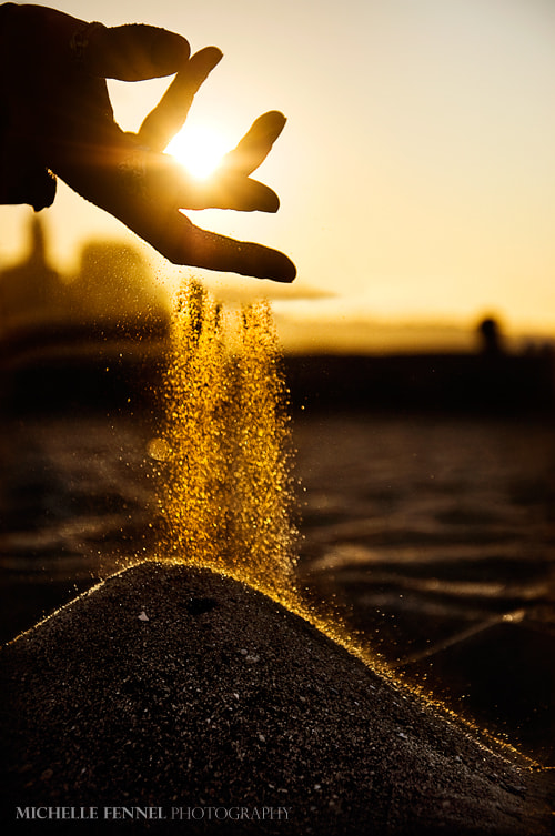 Photograph Gold dust by Michelle Fennel on 500px