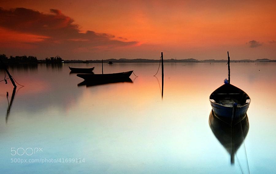 Photograph Wait for Sunrise by Iman Hanggi on 500px