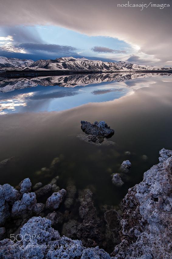 "Photograph "" MYSTIC REFLECTION ""  Mono Lake, California by noel casaje on 500px"
