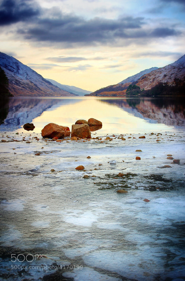 Photograph Loch Sheil by Nik Sargent on 500px