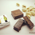 Постер, плакат: Chocolate with pistachio