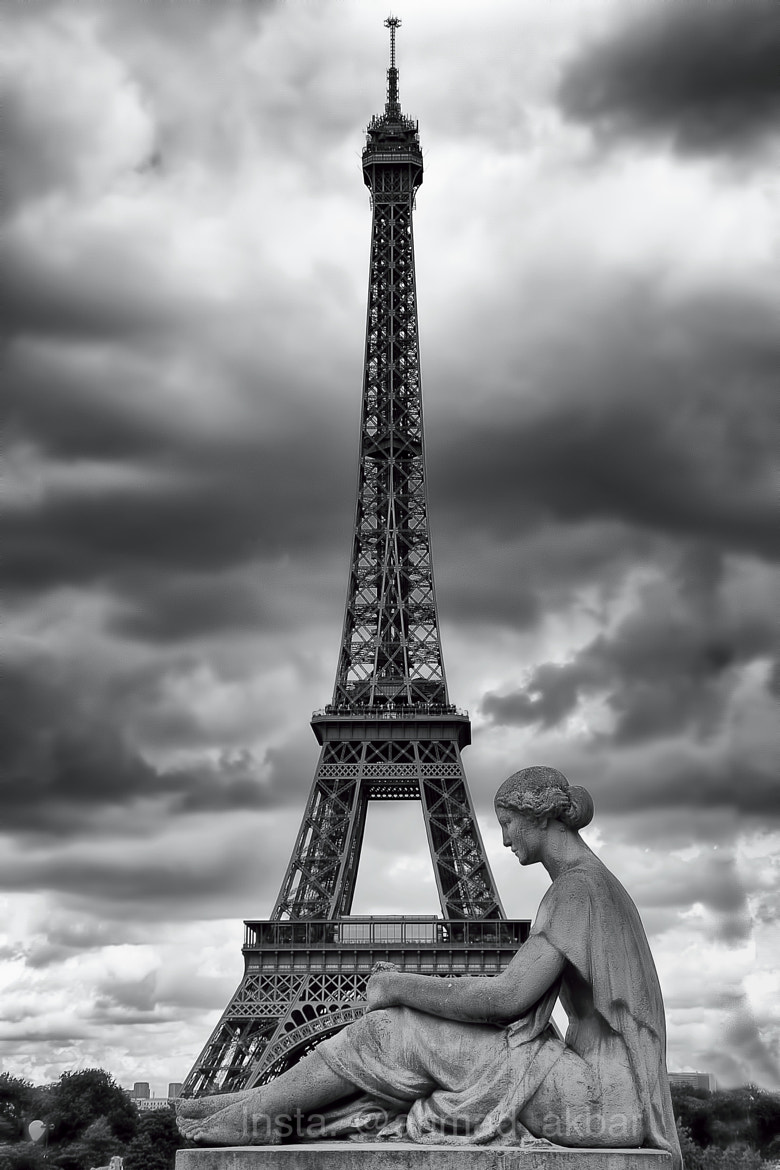 Photograph Lonely In Paris by Ahmad Akbar on 500px
