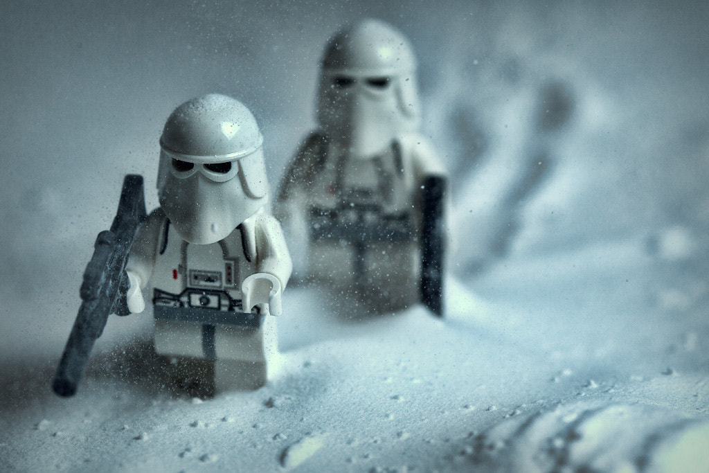 Photograph First patrol on Hoth and it's snowing by Kevin Leitch on 500px