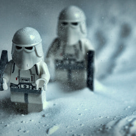 First patrol on Hoth and it's snowing by Kevin Leitch (evilKitchen)) on 500px.com