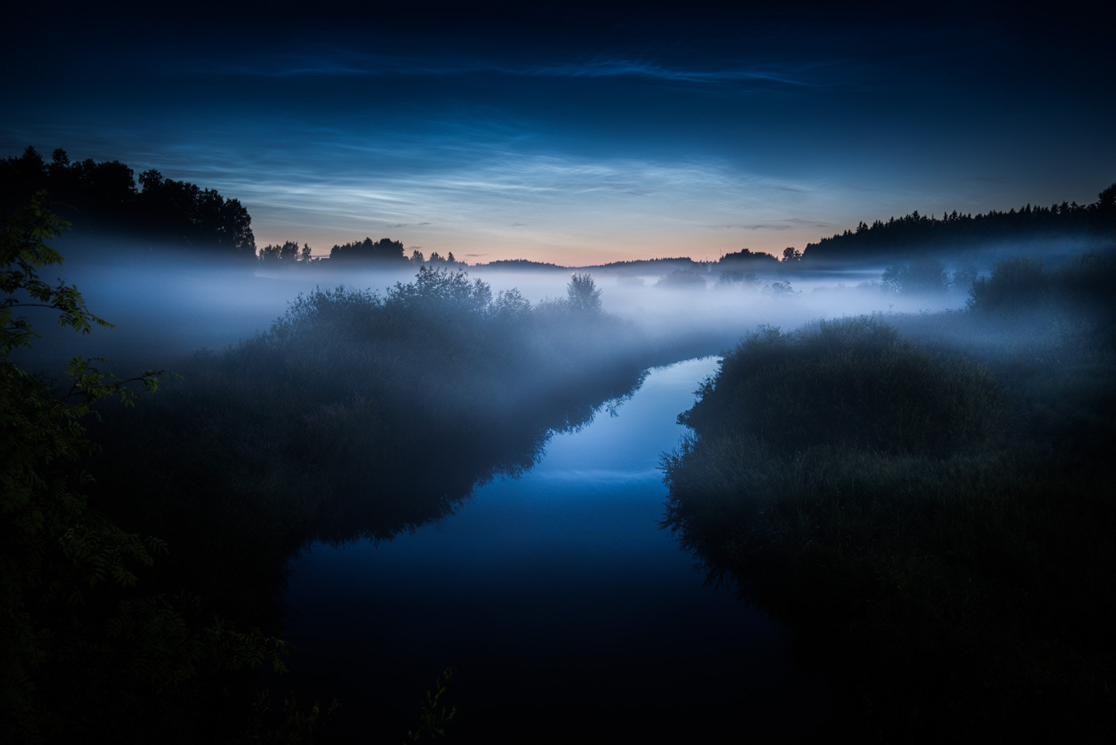 Photograph Noctilucent Clouds by Mikko Lagerstedt on 500px