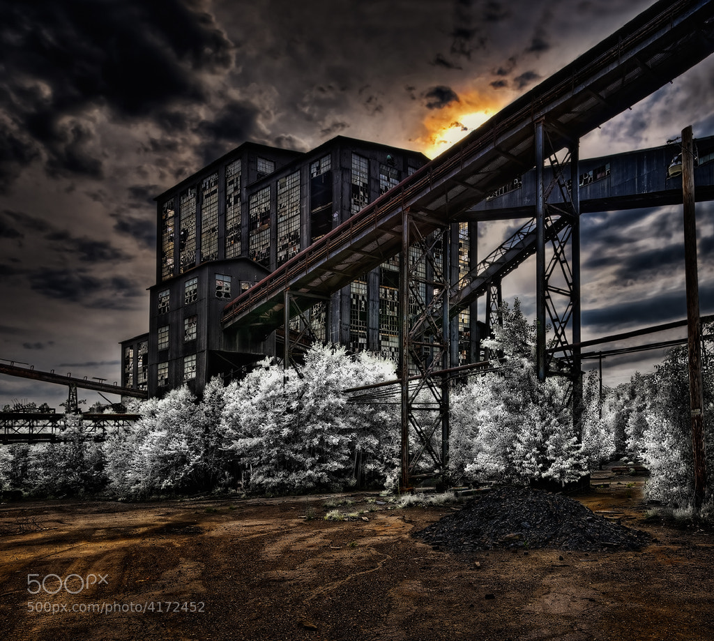 Photograph Ashley Coal Breaker by John Maslowski on 500px
